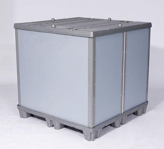 塑料蜂窝板折叠围板箱1150*1150